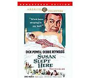 Susan Slept Here - Remaster - (1954) - DVD - E271280
