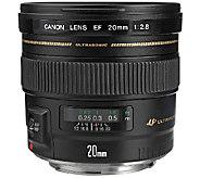 Canon EF 20mm f/2.8 Wide-Angle USM Lens - E278880