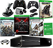 Xbox One Gears of War Bundle with 3 Bonus Games & Accessories - E284780