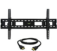 MegaMounts Tilt 37 to 80 TV Wall Mount with H DMI Cable - E287480