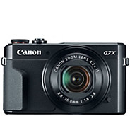 Canon PowerShot G7 X Mark II 20.1MP Camera - E290280