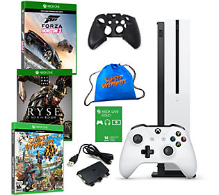 Xbox One S 1TB Bundle with Forza Horizon 3 andTwo Extra Games