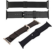 Digital Gadgets 4-Pack Replacement Bands for Apple Watch 38mm - E292880