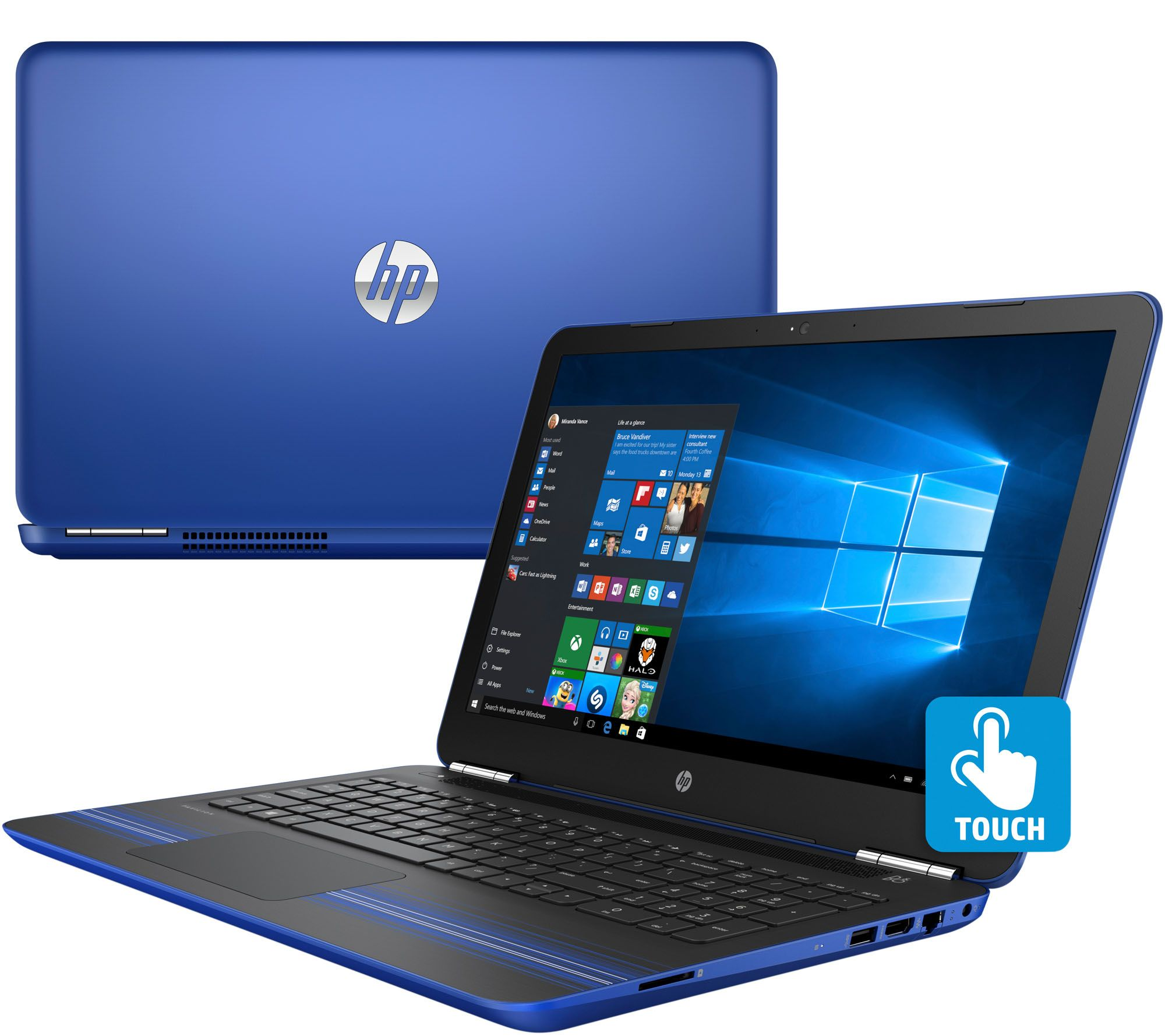 Hp 15 U0026quot  Laptop Touch  Intel Core I5  8gbram 1tb Hdd With