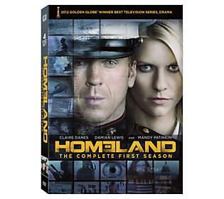 Homeland: Season 1 Four-Disc DVD Set