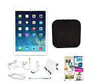 Apple iPad Air 16GB Bundle w/ Apple TV, Software & Accessorie - E288281
