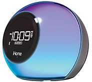 iHome Color Changing Bluetooth Dual Alarm Clock Radio - E288481