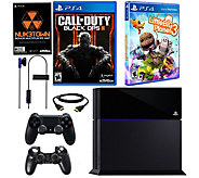 Sony PS4 500GB Call of Duty Bundle with LittleBigPlanet 3 - E288581