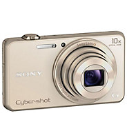 Sony Cyber-Shot 18.2MP Digital Camera with 10XZoom & Wi-Fi - E289081
