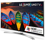 LG 55 Class Smart 4K 3D LED-Backlit Super Ultra HDTV - E289281