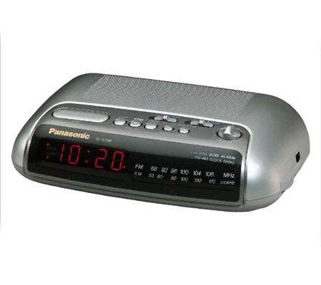 Panasonic Rc 6288 Am Fm Dual Alarm Clock Radio E93281