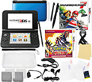 Nintendo 3DS XL with Two Games & Accessories - E283182