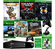 Xbox One 1TB Bundle with 6 Games and App Pack - E288782