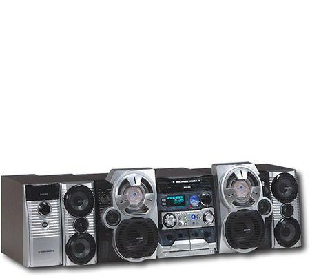 Philips Fwc798 500 Watt Mini Hi Fi System W 3 Cd Changer