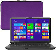 Toshiba 15.6 Touch Laptop AMD A8, 6GB RAM 750GB HDD, Case McAfee &Support - E227783