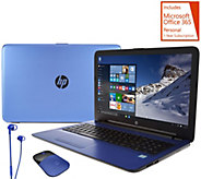 HP 17 Blue Edition Laptop 12GB, 1TB, Core i3, Office Mouse & Earbuds - E230083
