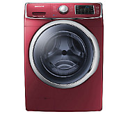 Samsung 5400 4.2 Cu.Ft. Front Load Washer w/ Steam - Merlot - E277683