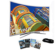 Samsung 49 Curved Smart LED HDTV with HDMI Cable & App Pack - E288983