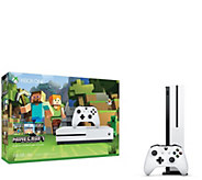 Xbox One S 500GB Console with Minecraft - E290583