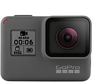 GoPro HERO6 Black Action Camera with 16GB microSD Memory Card - E293983