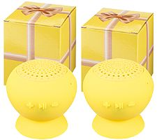 Set of 2 Jumbo PopRock Bluetooth Speakers in Gift Boxes