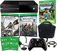 Xbox One 500GB Console with 2 Assassins Creed & Minecraft Games - E227084