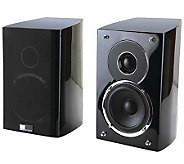 Pure Acoustics Noble-II Two-Way 4 Rear/Bookshelf Speakers - E249384