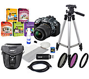 Nikon D5300 DSLR Camera with 18-55mm Lens Kit,16GB SD Card - E276584