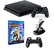 Sony PlayStation 4 1TB Bundle with Ratchet &Clank and Accs. - E291284
