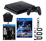 Sony PlayStation 4 1TB Slim Bundle w/ Star Wars Battlefront II - E292684