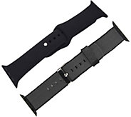 Digital Gadgets 2-Pack Replacement Bands for Apple Watch 42mm - E292884