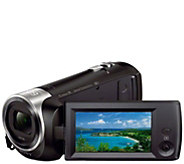 Sony CX440 HD Handycam with 8GB Internal Memory - E289085