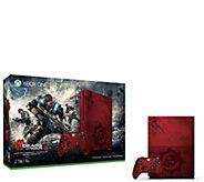 Xbox One S 2TB Console - Gears of War 4 LimitedEdition Bundle - E290585