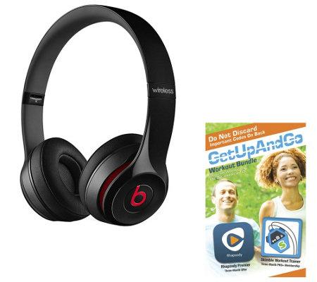 Beats By Dre Solo2 Wireless Headphones W App Package