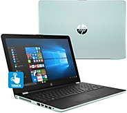 Ships 11/20 HP 15.6 Touch Laptop AMD A9 4GB RAM 1TB HDD w/ Software Kit - E231386