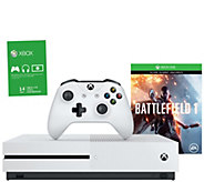Xbox One S 500GB Battlefield Console with 14-Day Xbox Live - E292386