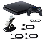Sony Playstation 4 1TB Slim Console with Charging Dock - E292686
