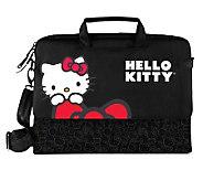 Hello Kitty KT4335R Laptop Case - Black - E248687