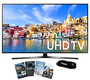 Samsung 49 Smart LED 4K Ultra HDTV with HDMI Cable & App Pac - E288987