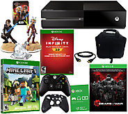Xbox One 500GB Gears of War Bundle w/ Infinity3.0 & Minecraft - E284688