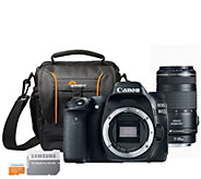 Canon EOS 80D DSLR Camera with 70-300mm Lens &Accessories - E290288