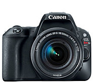 Canon EOS Rebel SL2 DSLR Camera with EF-S 18-55mm f/4-5.6 Kit - E292888