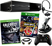 Xbox One Console w/ Call of Duty: Ghosts, Dual Charger & Accs. - E227089