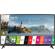 LG 55 4K Ultra HD Smart TV with Active HDR and Channel Plus - E230789