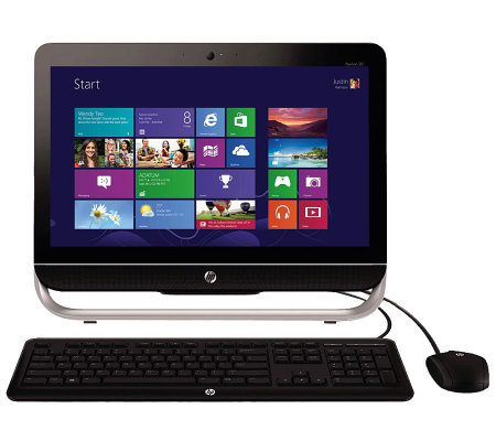 "HP 20"" WiFi All-in-One Windows 8, 4GB RAM, 500GB HD & Softwar"