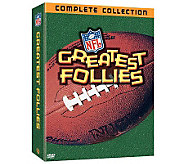 NFL Greatest Follies Collection Gift Set 3-DiscDVD Set - E263789