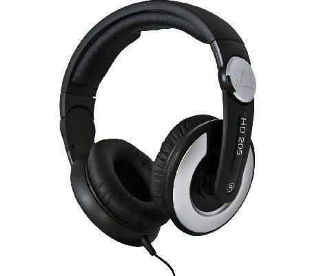 sennheiser hd 205 studio monitor dj headphones. Black Bedroom Furniture Sets. Home Design Ideas