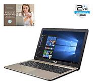 ASUS 15.6 Laptop - 4GB RAM, 500GB HDD, Windows10 - E288389