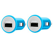 Belkin MIXIT USB Car Charger - Set of 2 - E289389