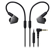 Audio-Technica Earbuds with In-Line Microphone - E294089